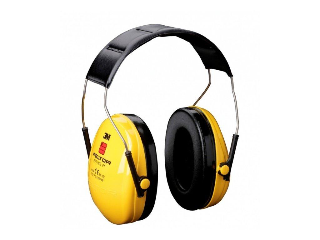 Sluchátka 3M Peltor Optime I - žlutá