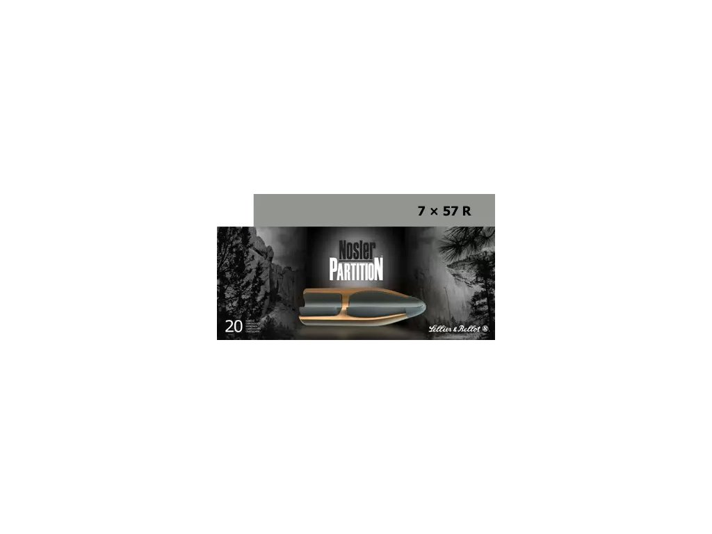 7x57R Nosler Partition 11,35g