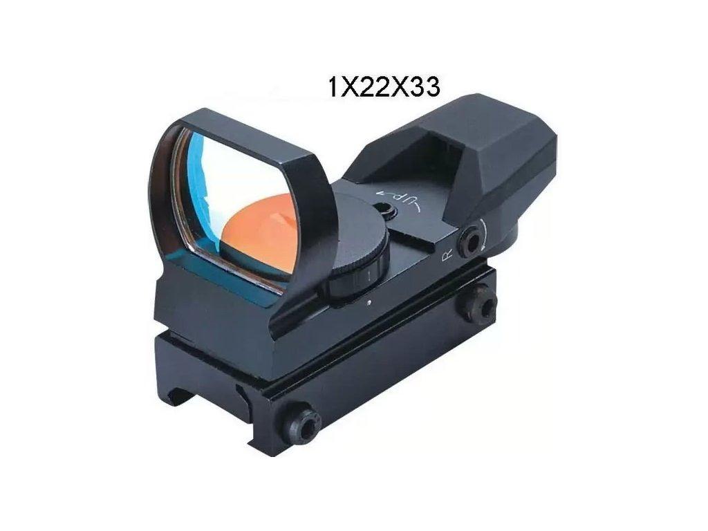 Kolimátor Fomei 1x22x33 RED 13-14mm