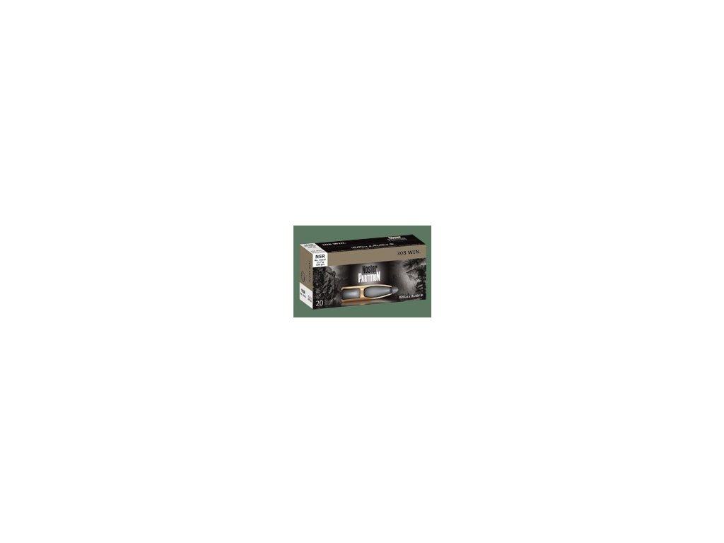 6,5x57 Sellier & Bellot Nosler Partition 9,1g