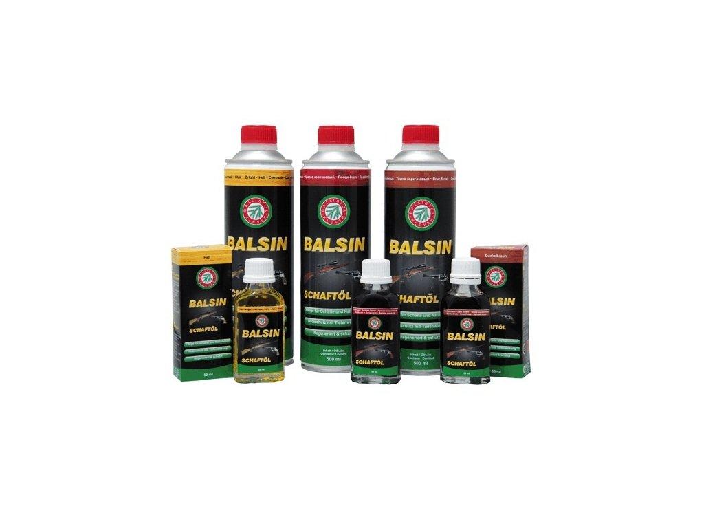 BALSIN pažbový olej - tmavěhnědý 50ml
