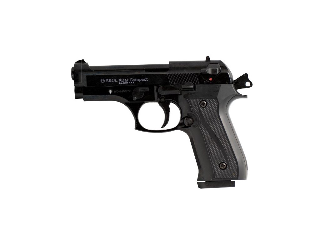 Plynová pistole EKOL Firat Compact black 9mm