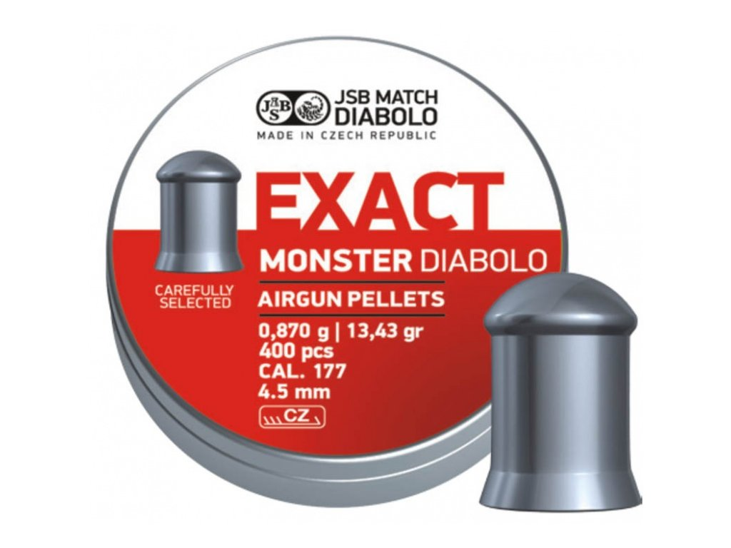 Diabolky JSB Exact Monster cal.4,52mm (400ks)
