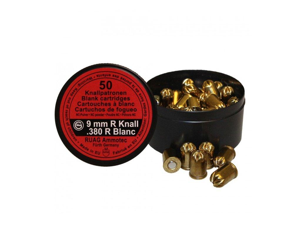 Nábojka GECO 9mm N/.380 Blank Nitro revolver