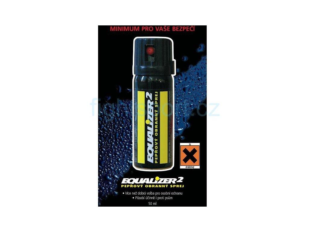 Obranný sprej pepřový EQUALIZER2 40ml