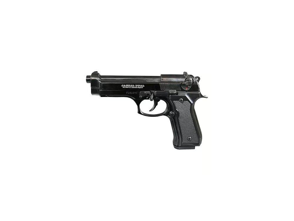 Plynová pistole EKOL Jackal Dual černá, cal. 9mm P.A.