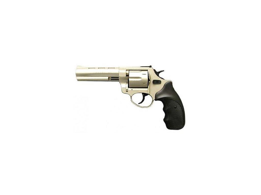 "Flobertkový revolver Zoraki R1 4,5"" satén cal.4mm"