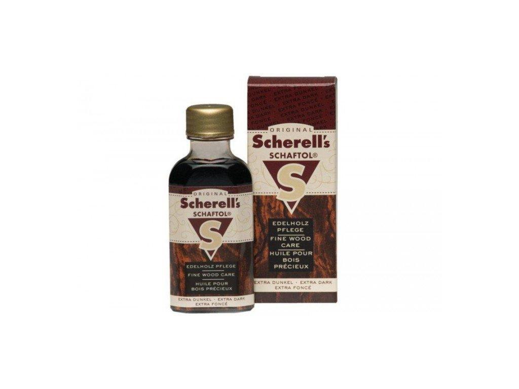 Pažbový olej - SCHAFTOL - extra tmavý