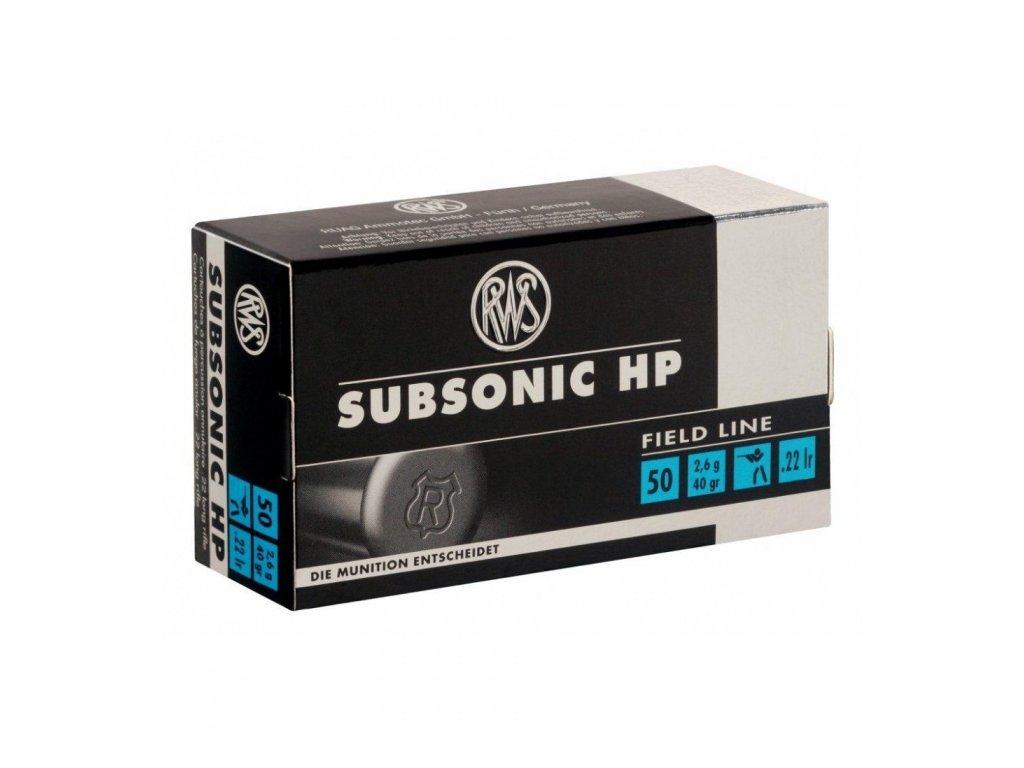 RWS 22 LR Subsonic HP