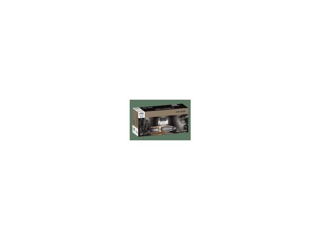 6,5x55 SE Sellier & Bellot Nosler Partition 9,1g