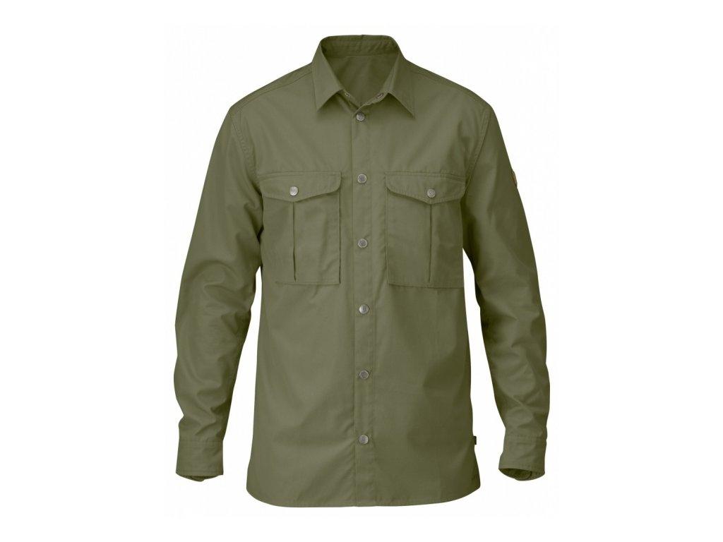 Košile Greenland Shirt Fjällräven - Green