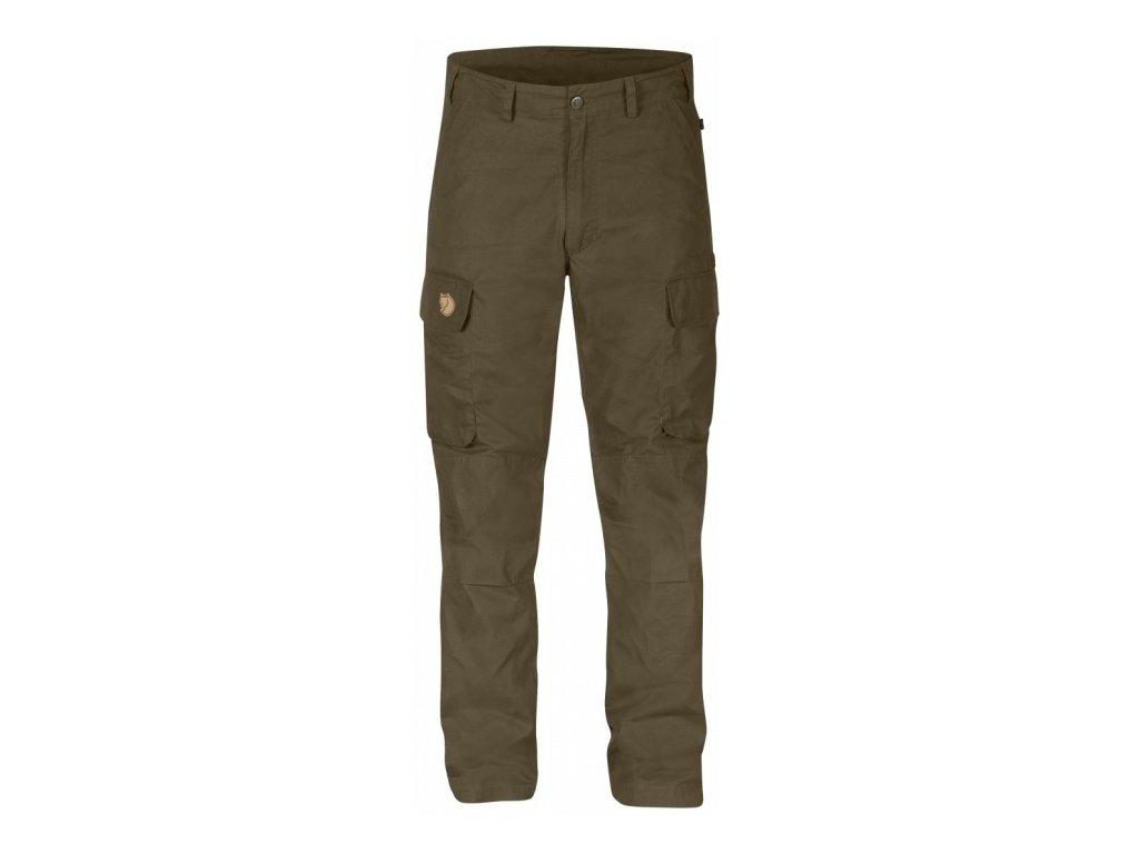 Kalhoty Brenner Pro Trousers Fjällräven - Dark Olive vel. 60