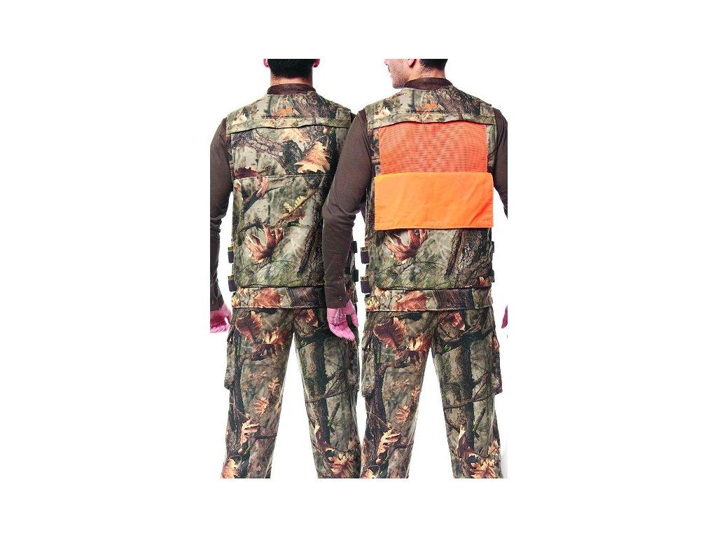 Lovecká vesta Hillman Hunter Vest (kamufláž) vel. XL