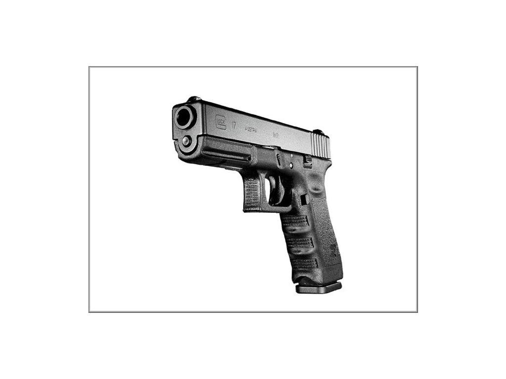 Pistole Glock 17, r. 9mm Luger