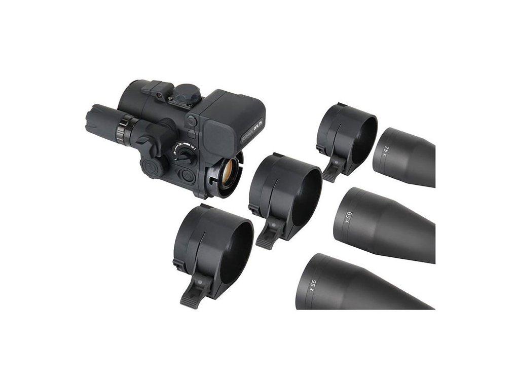 Adaptér 56 mm pro předsádku FORWARD DN55/DFA75 duralový
