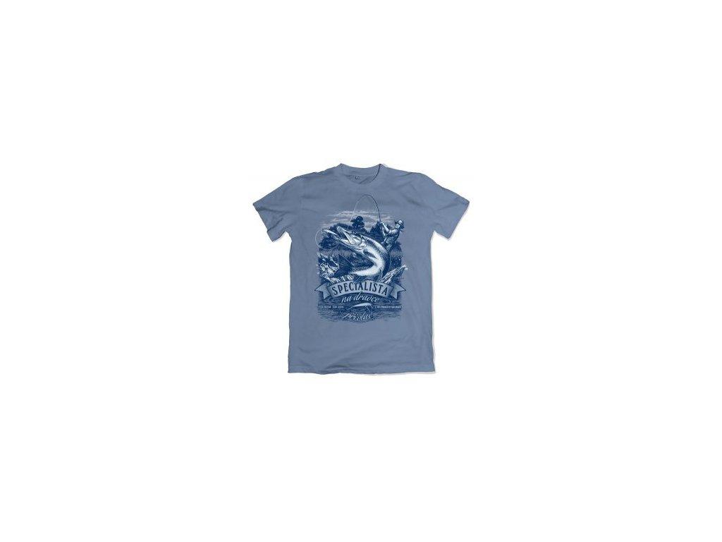BB Rybářské tričko štika vel. L