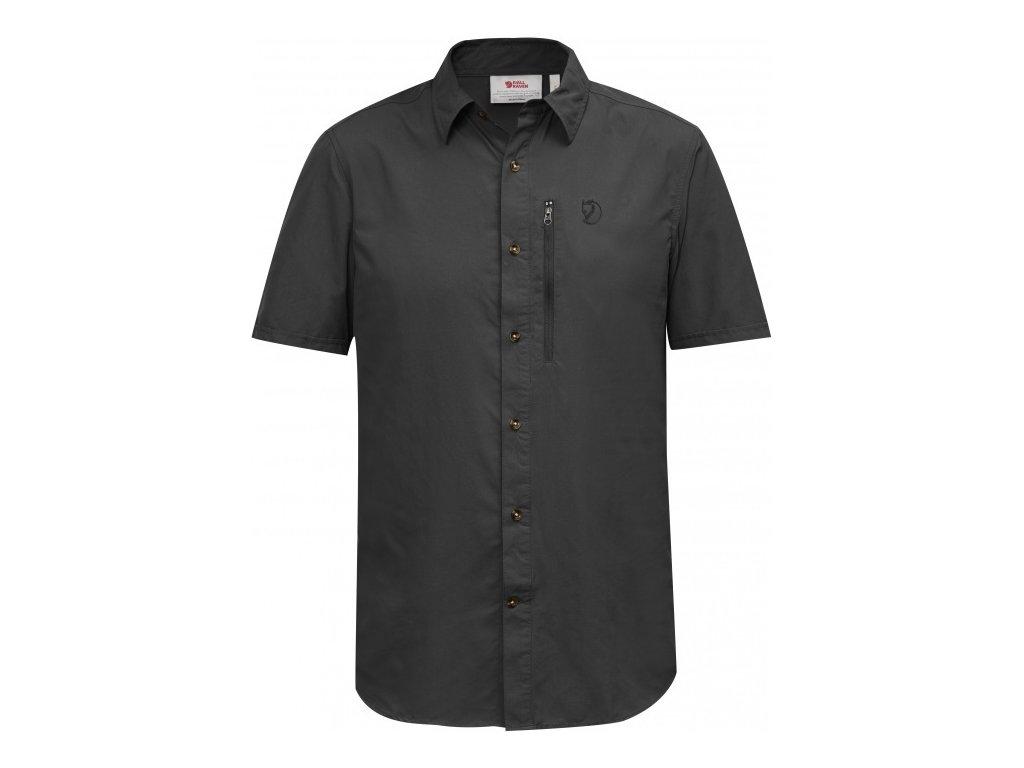 Fjällräven košile Abisko Hike shirt SS vel.XXL - Dark Grey
