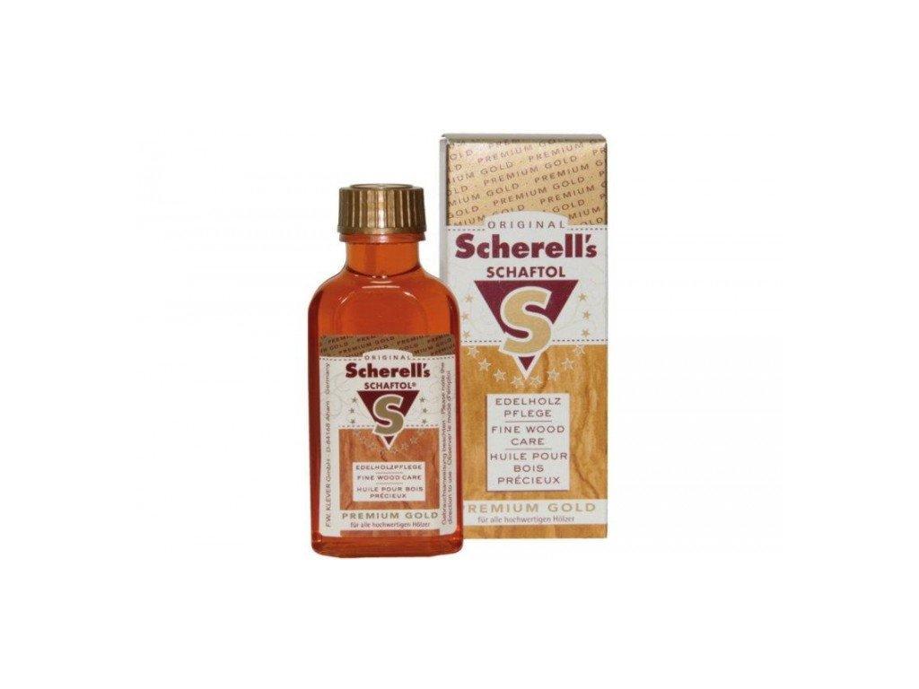 Pažbový olej - SCHAFTOL - Premium Gold