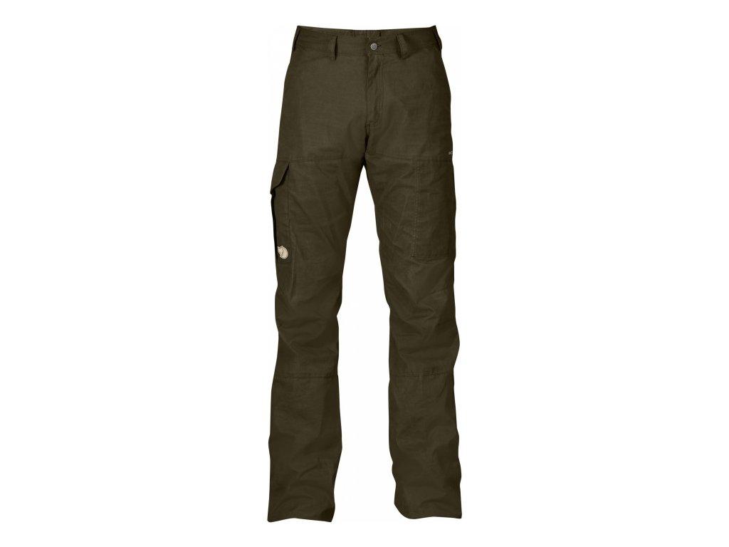 Kalhoty Fjällräven Karl Pro Trousers - Dark Olive
