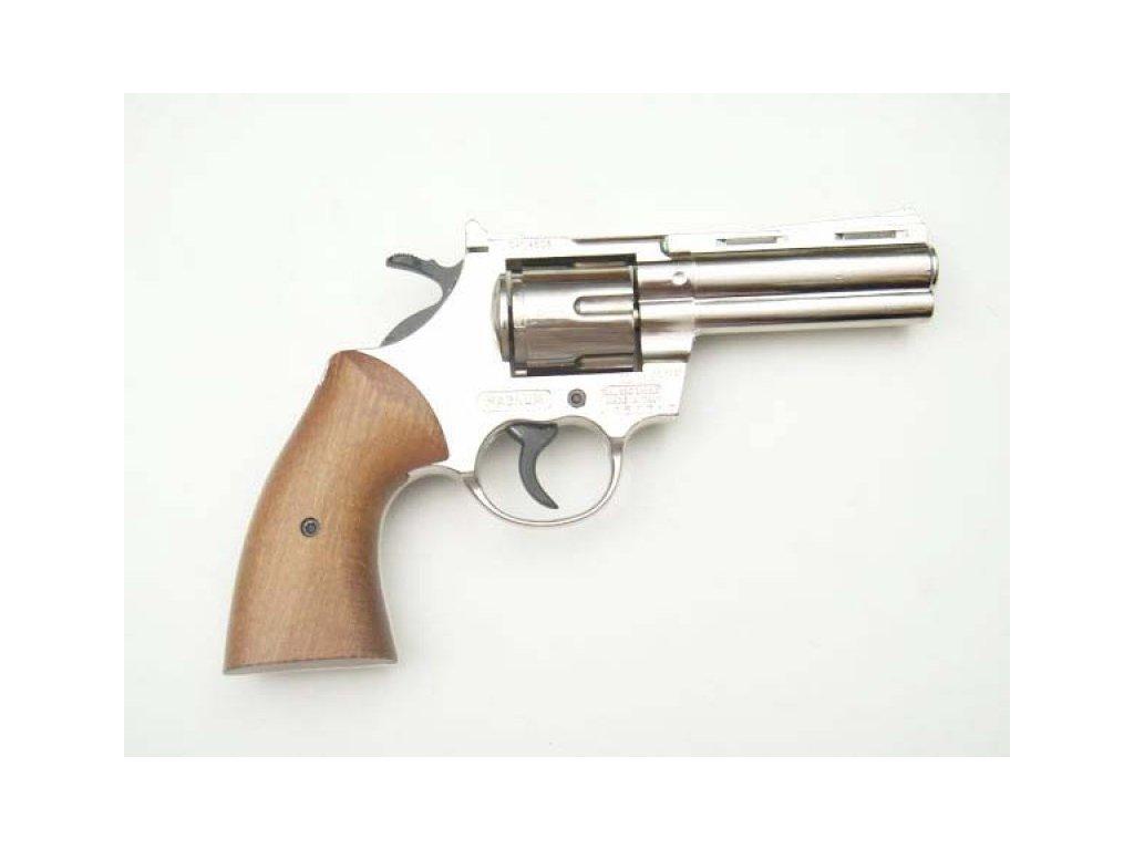 Plynový revolver Bruni Magnum 380 NIKL cal.9mm