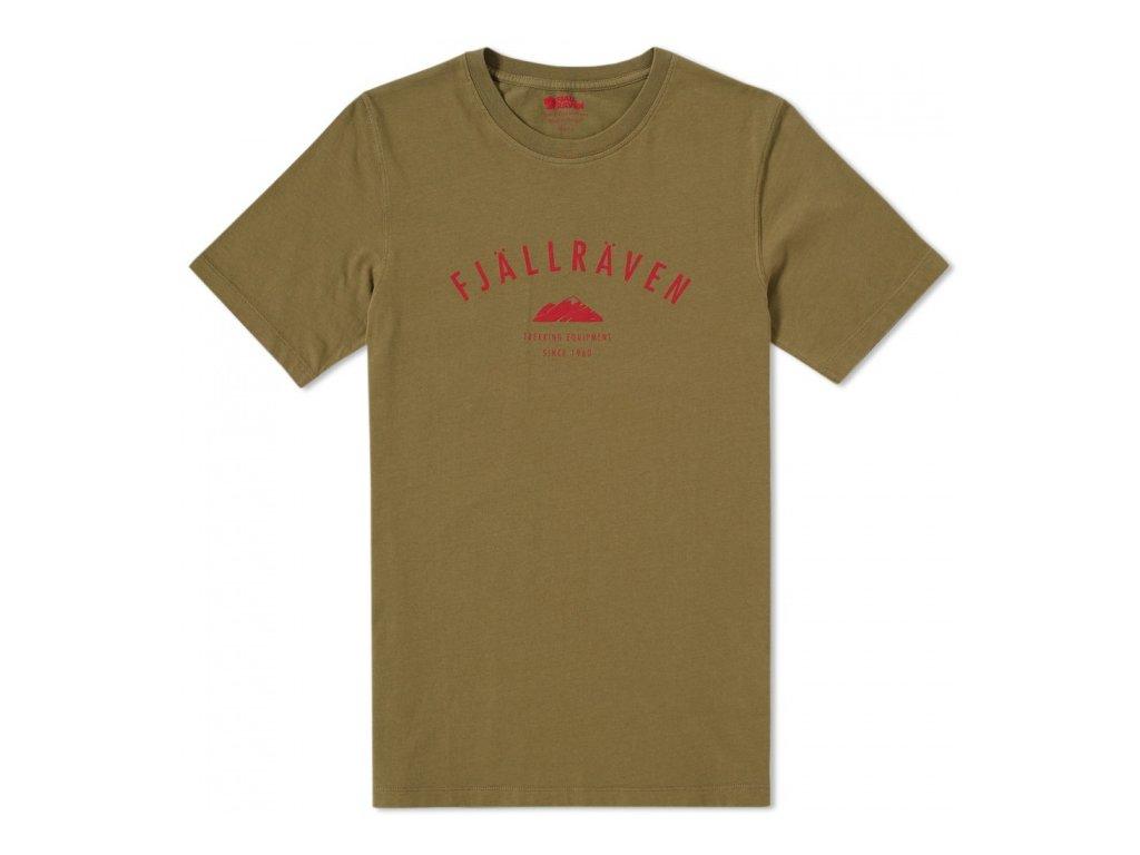 Trekking Equipment T-shirt Green XXL