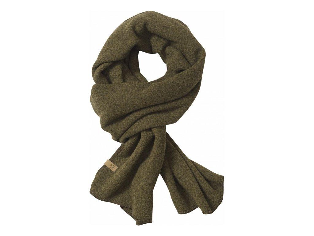 Fjällräven šála lappland fleece scarf - Dark Olive