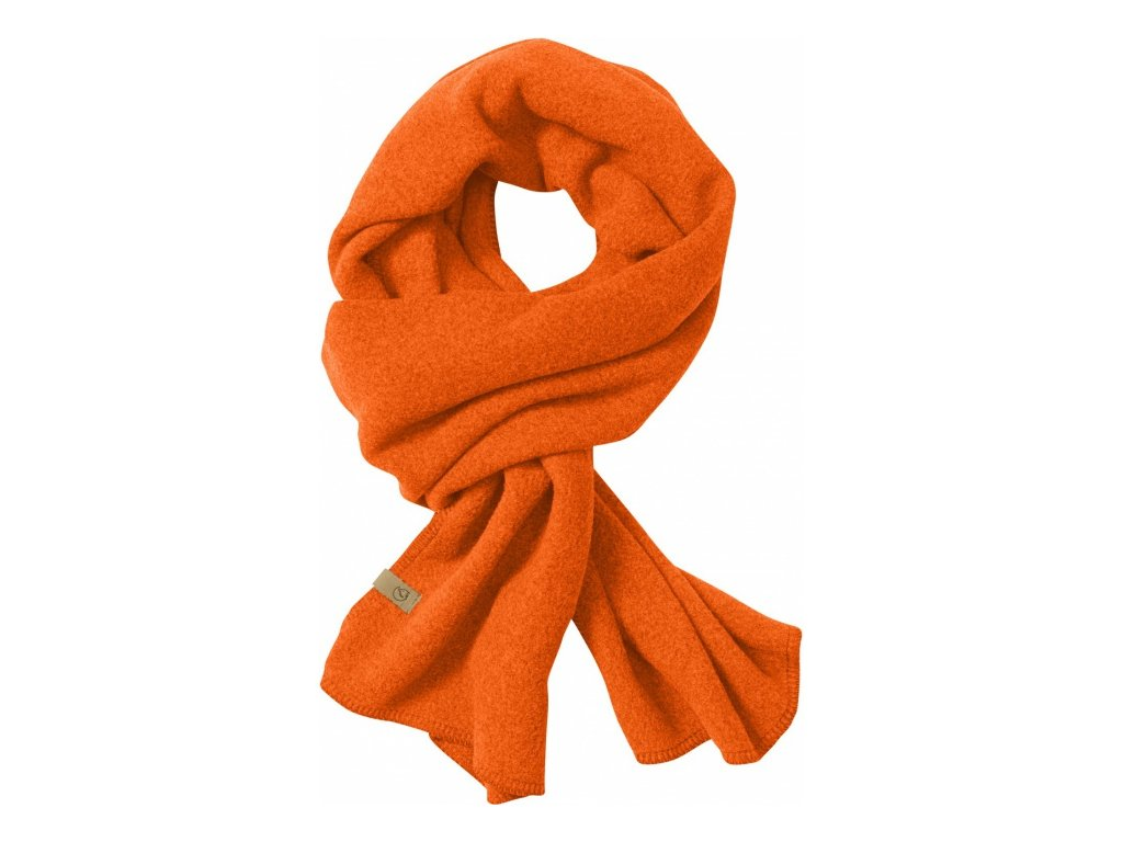 Fjällräven šála lappland fleece scarf - Orange