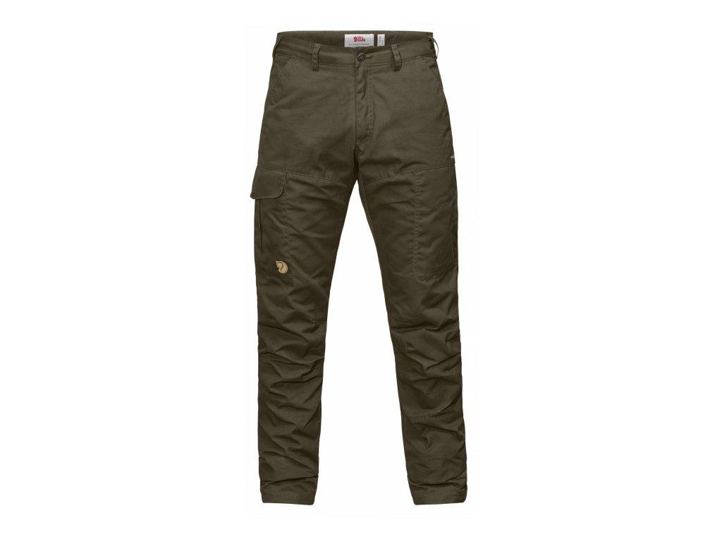 Kalhoty Fjällräven Karl Pro Hydratic Trousers - Dark Olive