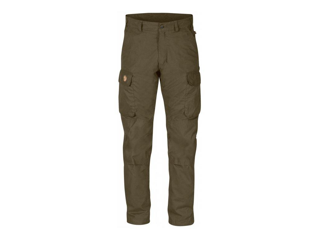 Kalhoty Brenner Pro Winter Trousers Fjällräven - Dark Olive