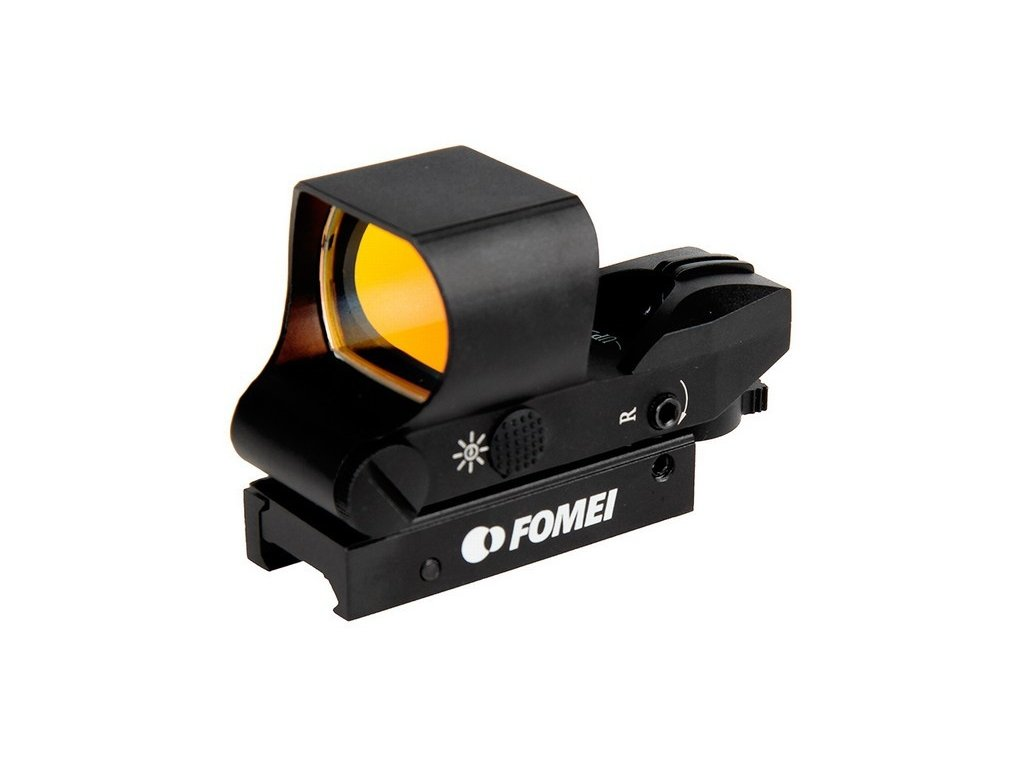 Kolimátor Fomei 1x28x40 mm RED Wide (13-14 mm)