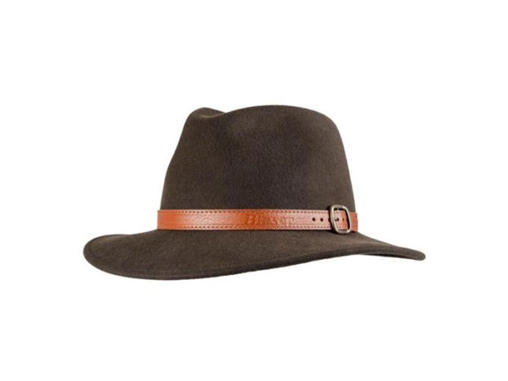 Blaser myslivecký vlněný klobouk hnědý