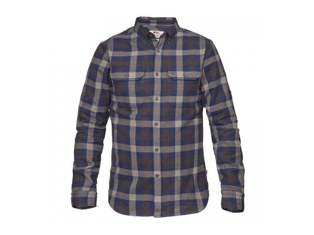 FJÄLLRÄVEN košile Skog Shirt - Glacier Green, velikost L