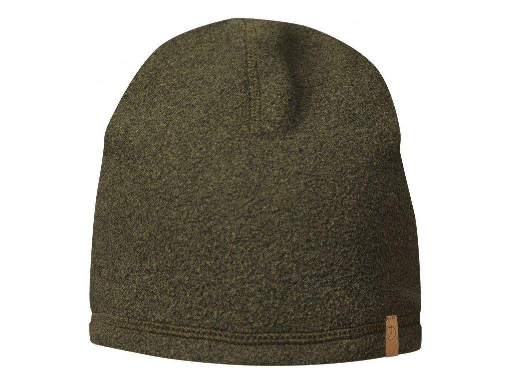 Fjällräven čepice Lappland Fleece Hat 1Siz - DARK OLIVE