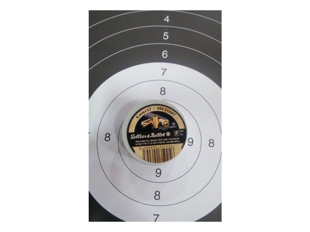Nábojka S&B 9x17 / 380 Start - revolver