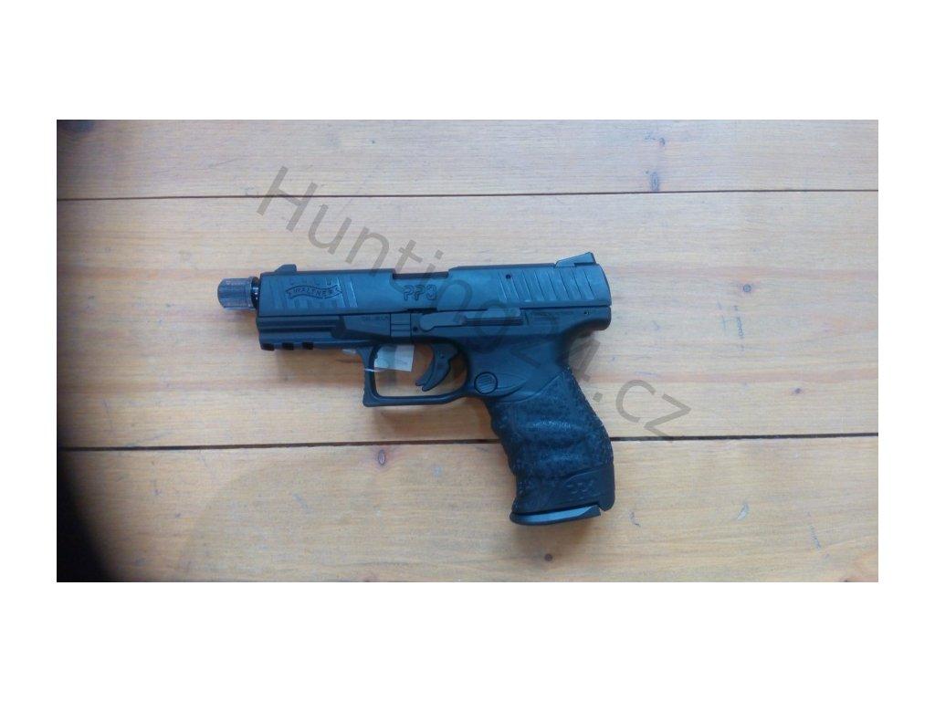 Pistole Walther PPQ M2 Tactical 4,6˝ 22LR - černá