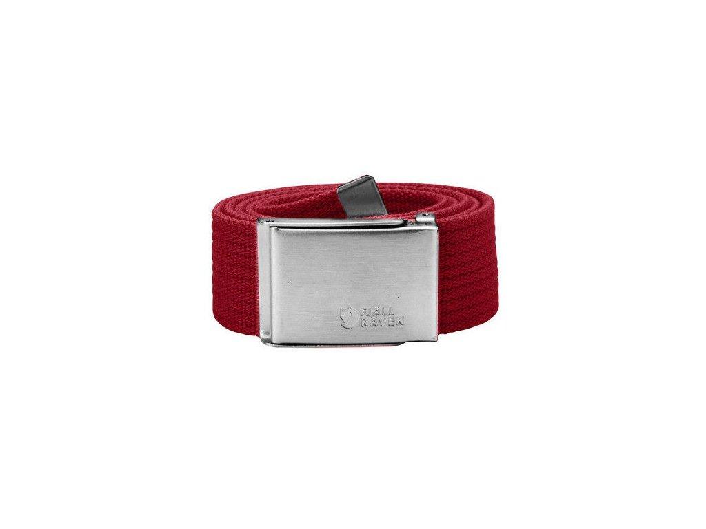 Pásek Canvas Belt Fjällräven - Deep Red
