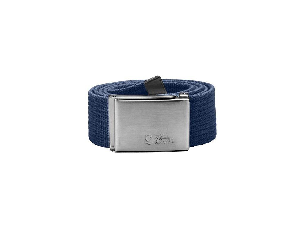 Pásek Canvas Belt Fjällräven - Blue Berry