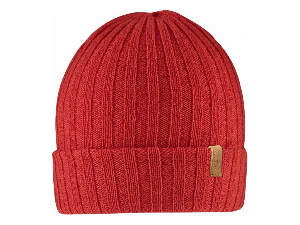 Čepice Fjällräven Byron Hat Thin - Red