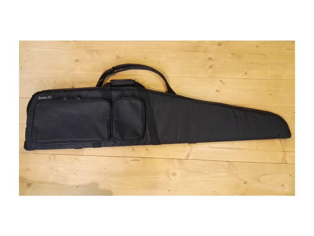 Pouzdro na loveckou zbraň délky 124 cm. černé