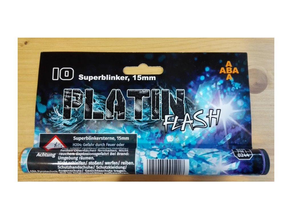 Světlice pro plynové zbraně Platin Flash - tuba 10 ks
