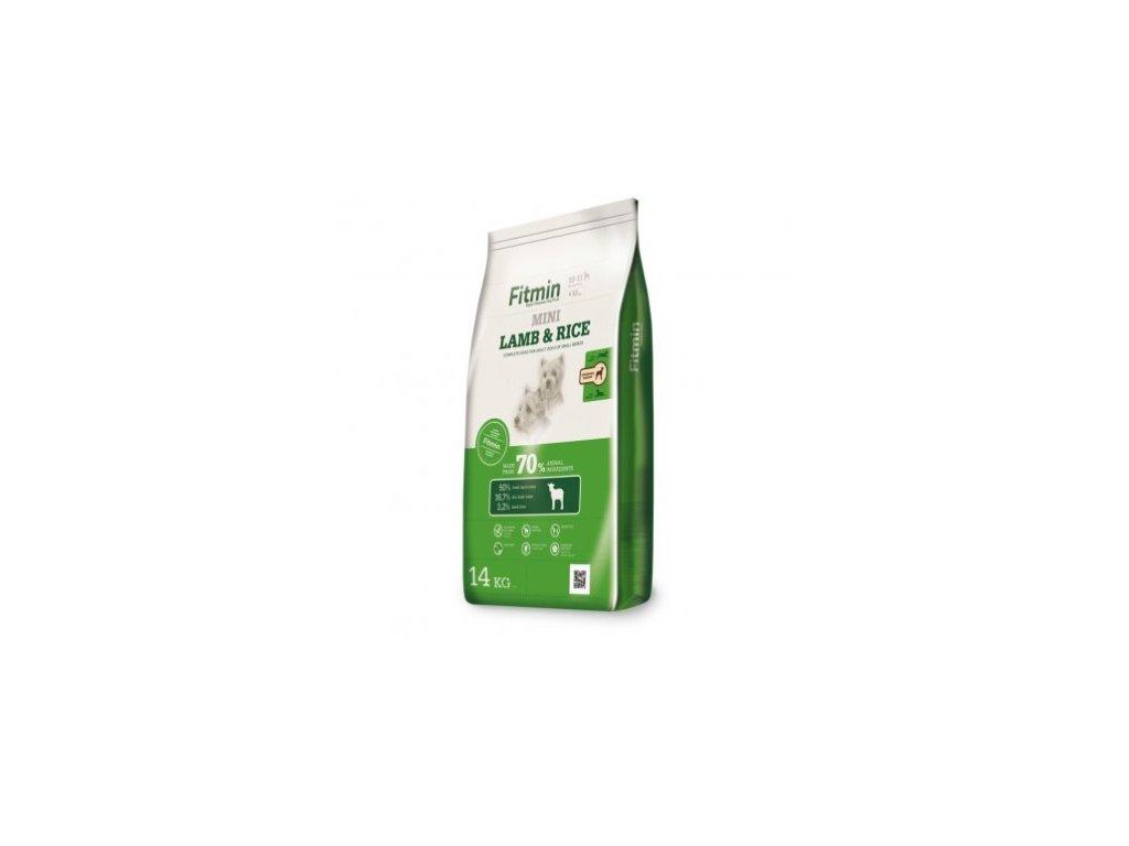 Fitmin Mini Lamb & Rice kompletní krmivo pro psy