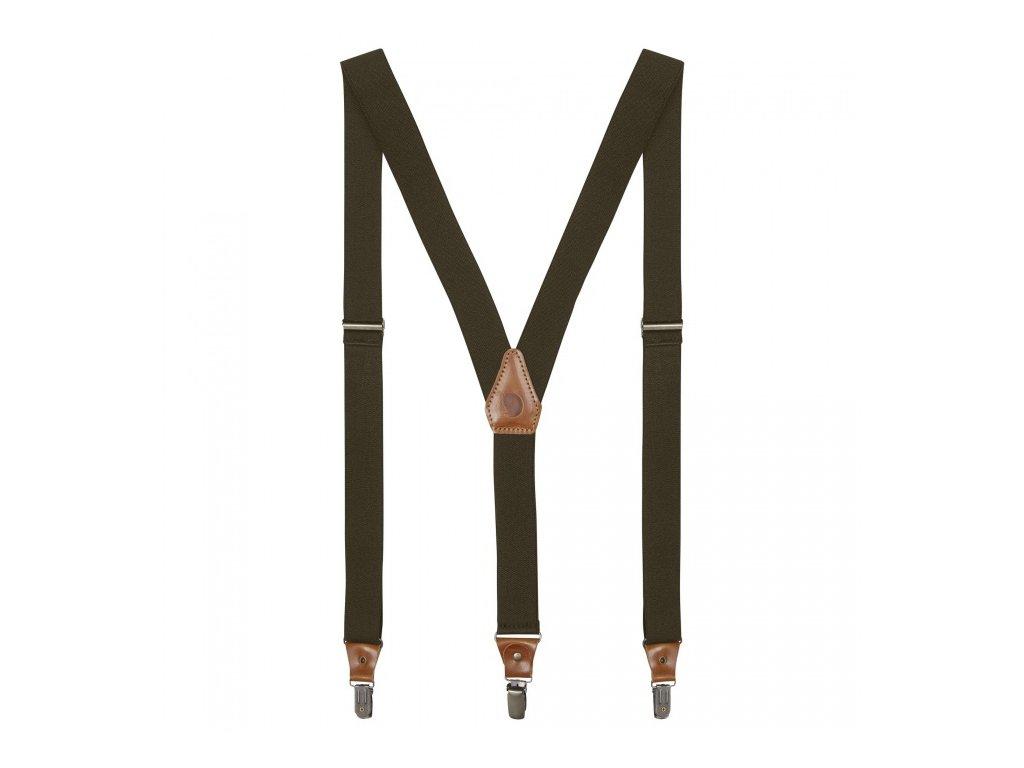 FJÄLLRÄVEN kšandy singi clip suspenders - Dark Olive