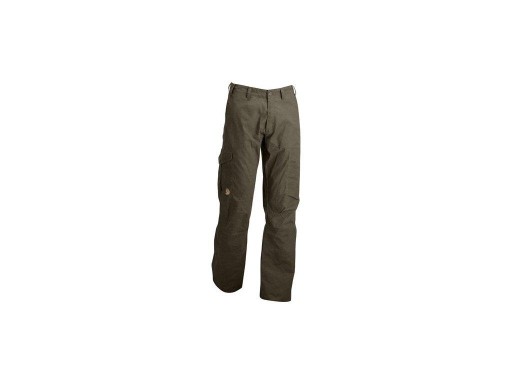 Kalhoty Karl Trousers Fjällräven - Dark Olive vel. 60