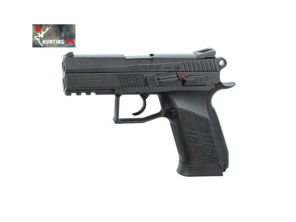 Pistole ASG CZ 75 P07 DUTY CO2 6mm