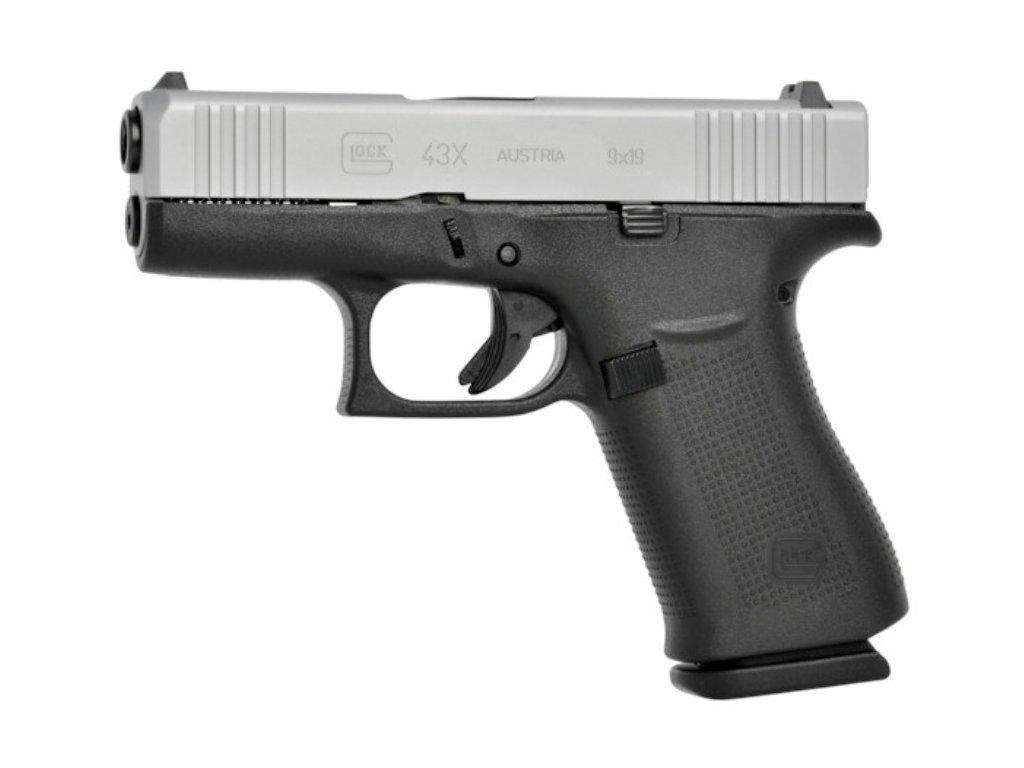 Samonabíjecí pistole Glock 43X, cal. 9mm Luger