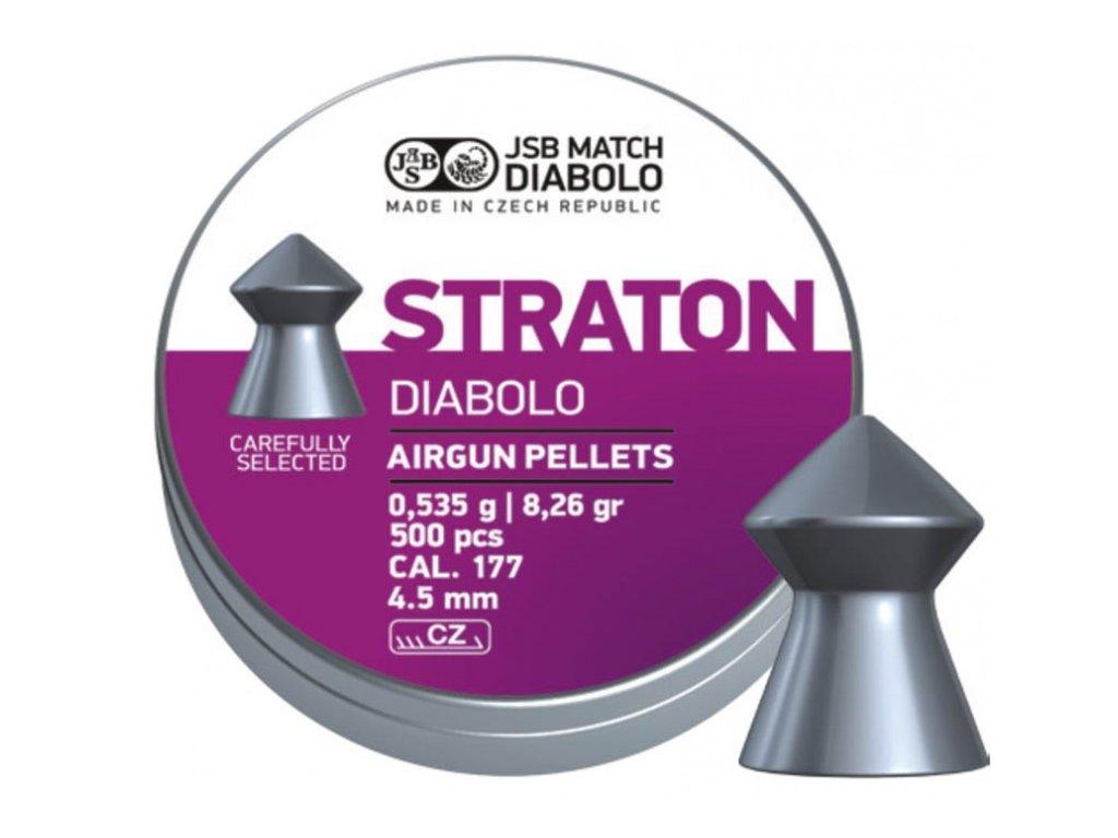 Diabolky JSB Straton - 4,5 mm - 500 ks