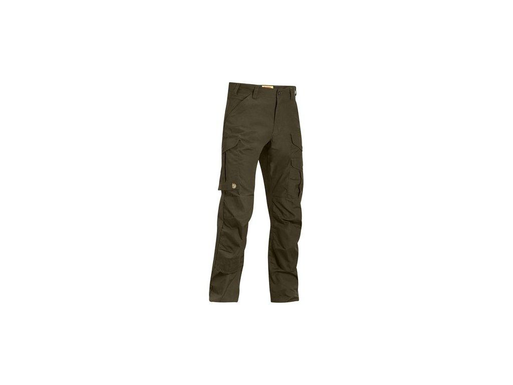 Kalhoty Iceland Pro Trousers Fjällräven vel. 56 - Dark Olive