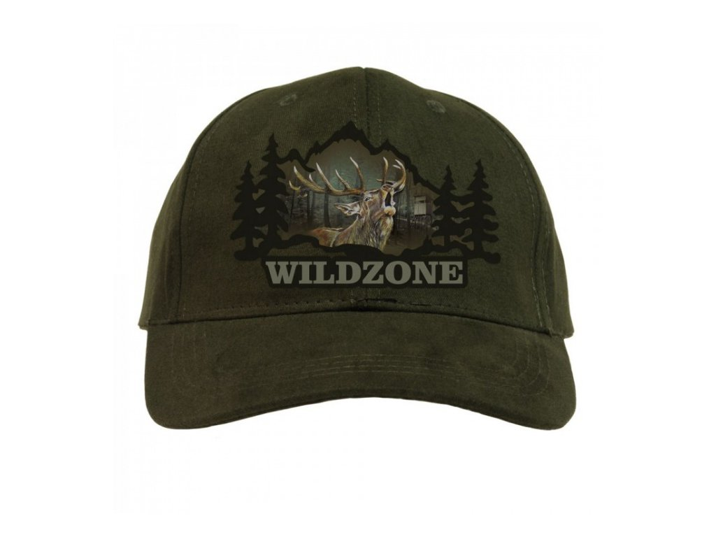 Kšiltovka Wildzone - jelen