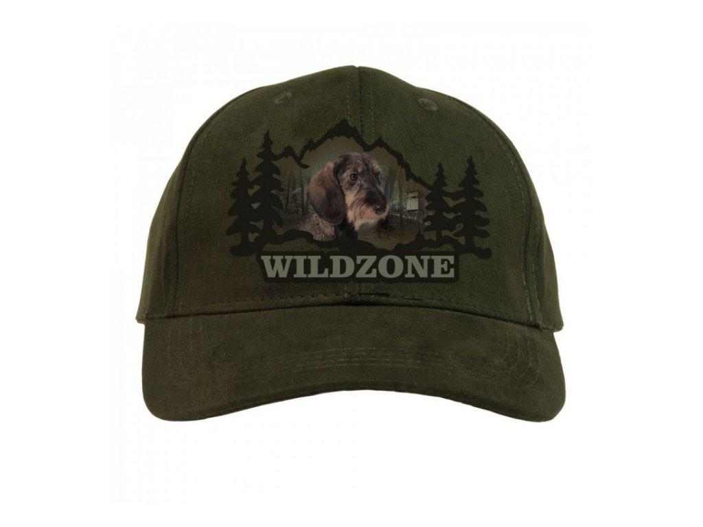 Kšiltovka Wildzone - jezevčík