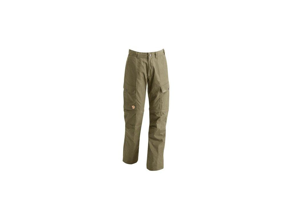 Kalhoty Ruaha Zip-Off Trousers Fjällräven vel 50 - Light Khaki